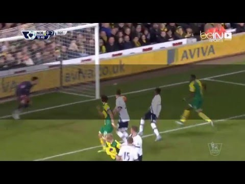شووت_فيديو l Norwich City vs Tottenham (0-3) All Goals & Highlights | Full Screen | HD 1080p | [02/02/2016]